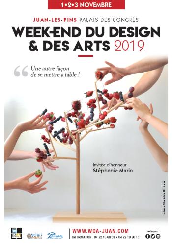 Affiche Week-end du Design et des Arts 2019