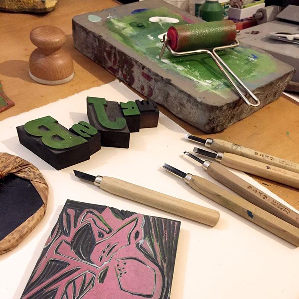 Atelier-gravure-_-creation-d'une-carte-originale